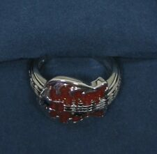 Elvis Presley Bradford Exchange 68 Comeback Special Guitar Ring Size-7 With COA!