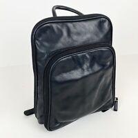Osgoode Marley Black Leather Backpack Bag