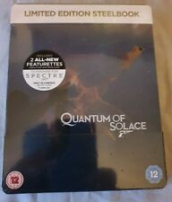 Quantum of Solace Ltd Edition UK Zavvi Blu-Ray Steelbook New & Sealed James Bond