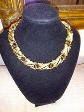 Collier girocollo necklace vintage americano firmato Monet