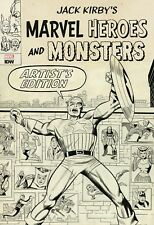 JACK KIRBY MARVEL HEROES & MONSTERS Artist's Edition  IDW HARDCOVER 22 X 15