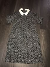 Ladies Tunic Dress Size 10 With False Collar