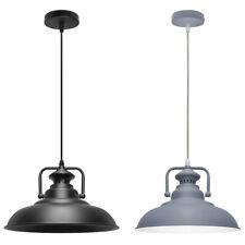 Vintage Industrial Metal Ceiling Pendant Shade Modern Hanging Retro Lights
