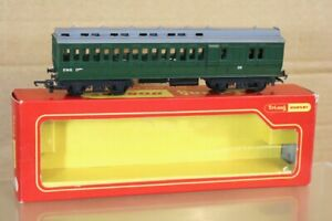 TRIANG HORNBY R620 BR GREEN ENGINEERING DEPT CLERESTORY COACH 20 BOXED ns