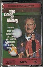 COLOR OF MONEY Soundtrack Cassette Eric Clapton Warren Zevon etc. Sealed