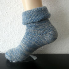 1 Pair of Warm Men's Thermal Wool Socks with Cover 70% Wool Blue 39 To 50