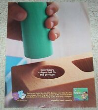 2004 print ad - Pampers Baby-Dry Diapers Procter & Gamble advertising page AD