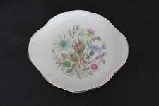 AYNSLEY Wild Tudor bone china trinket or pin dish.