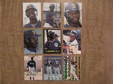 KEN GRIFFEY JR Pacific & Sports Stars Rookie Baseball Promo Cards Lot / + BONUS
