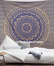 indio degradado MANDALA Tapiz Colgante de Pared Manta Colcha Cuarto Decoración
