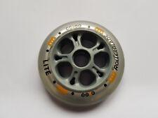 Rollerblade Lite Inlineskate Rollen 80mm 82A für Microbearings grau/gelb NEU