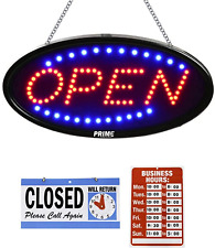 Led Open Sign for Business - 23 x 14 inch (Bigger Size) Led Shop Light - Neon Si