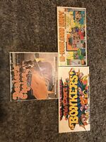 Lot Of 3 Vintage 70's Board games. Bonkers, Dealers Choice, 10-4 Good Buddy