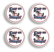 4 Pack Mini Keep Trumpin Sticker Decal Donald Trump POTUS Helmet President USA