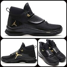 Nike Jordan Super. Fly 5 Po Zapatos de baloncesto UK 11 EUR 46 Negro 881571 015