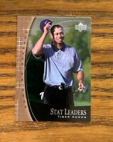2001 Upper Deck Stat Leaders Tiger Woods #SL11