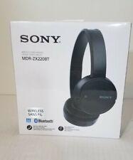 New Sealed Sony Wireless Sans Fil MDR-ZX22OBT Bluetooth Headset