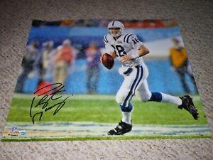 Peyton Manning autographed 16x20 photograph Indianapolis Colts ! Fanatics