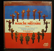 Dondeyne Marche Militaire LP 1967 VG+ MS-145 Stereo USA Music Guild