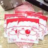 PT_ LC_ 100 x fiocco di neve di Natale Babbo Natale Cookie Candy biscotto rega