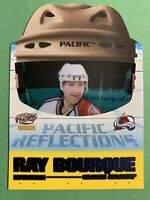 2000-01 Pacific Reflections #4 Ray Bourque Colorado Avalanche Acetate DieCut