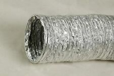 """Flex Duct (case of 4) Wire Reinforced 12"""" x 100' in sections of 25'"""