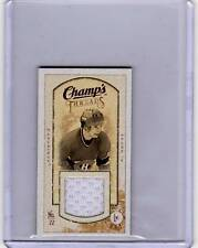 STEVE SHUTT 09/10 CHAMPS CHAMP'S MINI THREADS JERSEY #SH Game-Used Hockey Card