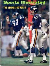 Sports Illustrated 74 FRAN TARKENTON Minnesota Vikings GEORGIA Football NO LABEL