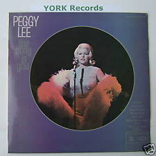 PEGGY LEE - The Song Is You - Excellent Con LP Record