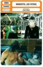 FICHE CINEMA : IMMORTEL (AD VITAM) - Hardy,Rampling,Bilal 2004