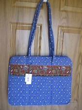 Vera Bradley Vintage Retired French Blue Diaper Baby Bag New With Tag