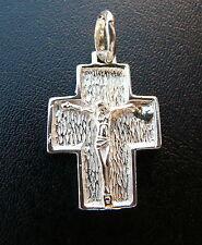 CROCE con Cristo   Ciondolo  argento 925 millesimi sterling silver