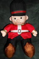"""VINTAGE NYLON HOLIDAY TOY SOLDER CHRISTMAS  EXCELLENT CONDITION  19 """" TALL"""