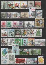 Czech Republic small lot of used stamps Česká republika
