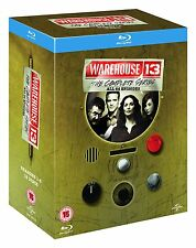 WAREHOUSE 13 [Blu-ray Box Set] The Complete Series All Seasons 1-5 TV Series