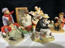 Lot Of 5 Danbury Mint Figurines - 1989 - Approx. 4�High