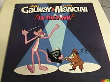IN THE PINK, James Galway & Henry Mancini, Vinyl Promo LP, RCA 1984
