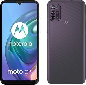 "Motorola Moto G10 4G 6.5"" Smartphone 64GB 4GB RAM Unlocked - Aurora Grey A"