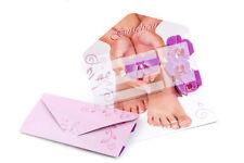 10 Geschenk Gutschein Karten #1 für Nagelstudio Nailart Kosmetik Fußpflege usw.