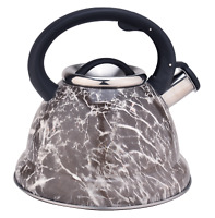 3.4QT Water Kettle Pot Stainless Steel Whistling Tea Kettle Stovetop Teapot