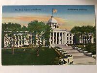 Postcard The State Capital Of Alabama Montgomery Alabama Chrome Vintage
