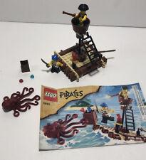 LEGO 6240 Pirates Kracken Attackin' Raft Octopus Minifigures 100% Complete