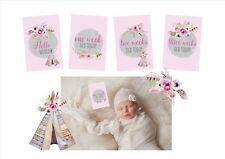 Baby Milestone Cards 16 Pack - Baby Shower Gift, Newborn Gift