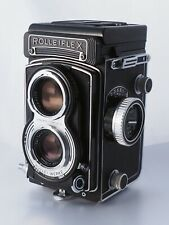 Rollei Rolleiflex T (12 / 16 frames) Carl Zeiss Tessar 75 mm f/3.5