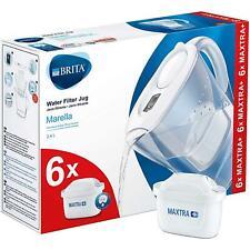 BRITA Marella Cool Maxtra + Plus 2.4L CARAFFA FILTRANTE ACQUA + 6 mese CARTUCCE Pack