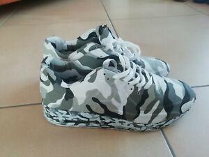 Nike Air Max 90 Weiß Camouflage Camo Tarn Farbe Gr 45