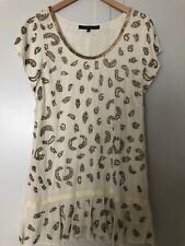 French Connection Dress With Gold Studs Size 10