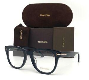 Tom Ford FT5653K 001 Black / Demo Lens 52mm Eyeglasses TF5653K