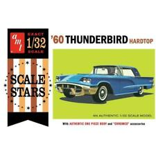 Skill 2 Model Kit 1960 Ford Thunderbird Hardtop 1/32 Scale by AMT Amt1135