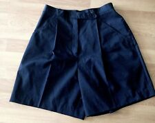 Golf Shorts by Head Size 10 Black Pockets Soft Front Pleats Casual Black